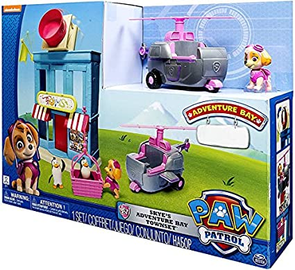 Spin Master Paw Patrol Skye's Adventure Bay Townset Exclusive Playset