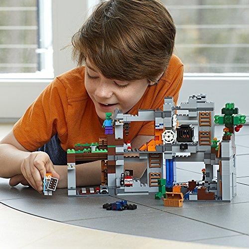 619OPDQA8vL - LEGO Minecraft The Bedrock Adventures 21147 Building Kit (644 Piece)