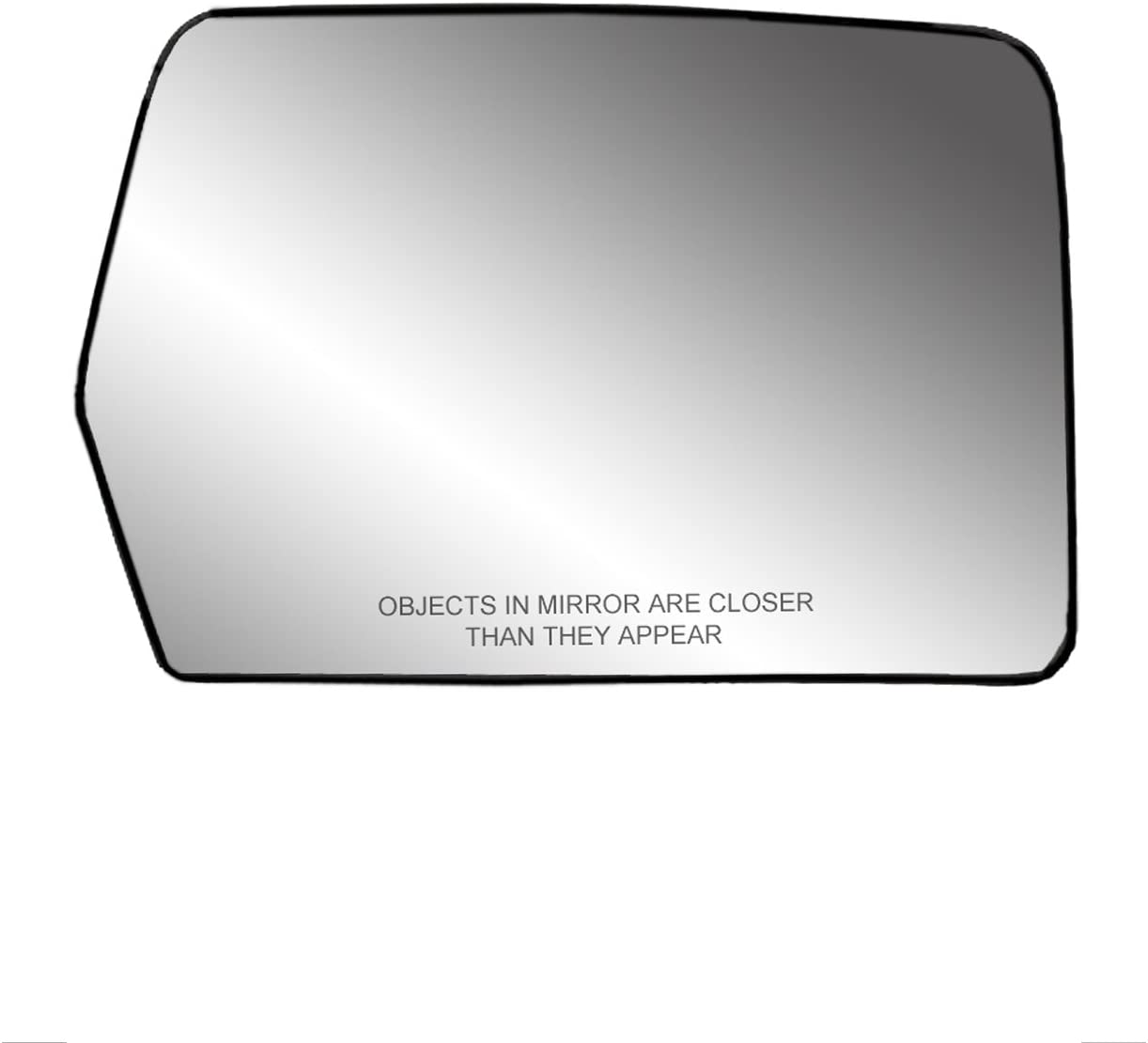 Partslink Number FO1325125 OE Replacement 2009-2010 FORD PICKUP/_FORD/_LIGHTDUTY Door Mirror Glass Assembly