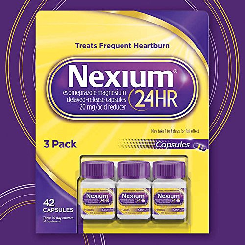 Nexium 24HR Acid Reducer, Delayed-Release Capsules (14 capsules, 3 pk.) by Nexium
