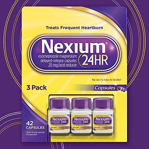 Nexium 24HR Acid Reducer, Delayed-Release Capsules (14 capsules, 3 pk.) -