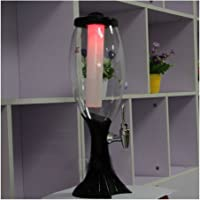 4.5 L Tabletop Wine Beer Tower Dispenser with LED Colorful Shinning Lights USA