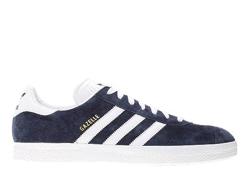 outlet store 4889a 58548 Adidas-gazelle-034581, Colore  Blu, Scarpe Sportive Uomo, Bianco (Bianco),  44 2 3  Amazon.it  Scarpe e borse