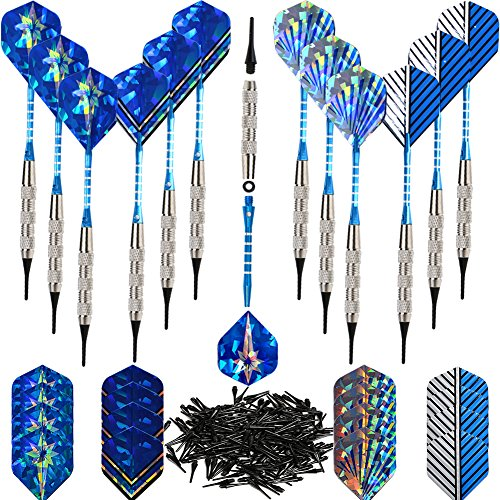Buy Cheap Bullout 18 gram Professional Soft Darts Set, 12 Plastic Tip Dart,Stainless steel Barrels, ...