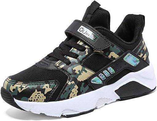 Zapatillas de Running para niños con Velcro Azul Blanco Zapatillas Deportivas Zapatillas Deportivas para niños cómodas Suela Gruesa Zapatillas Deportivas para niños: Amazon.es: Zapatos y complementos