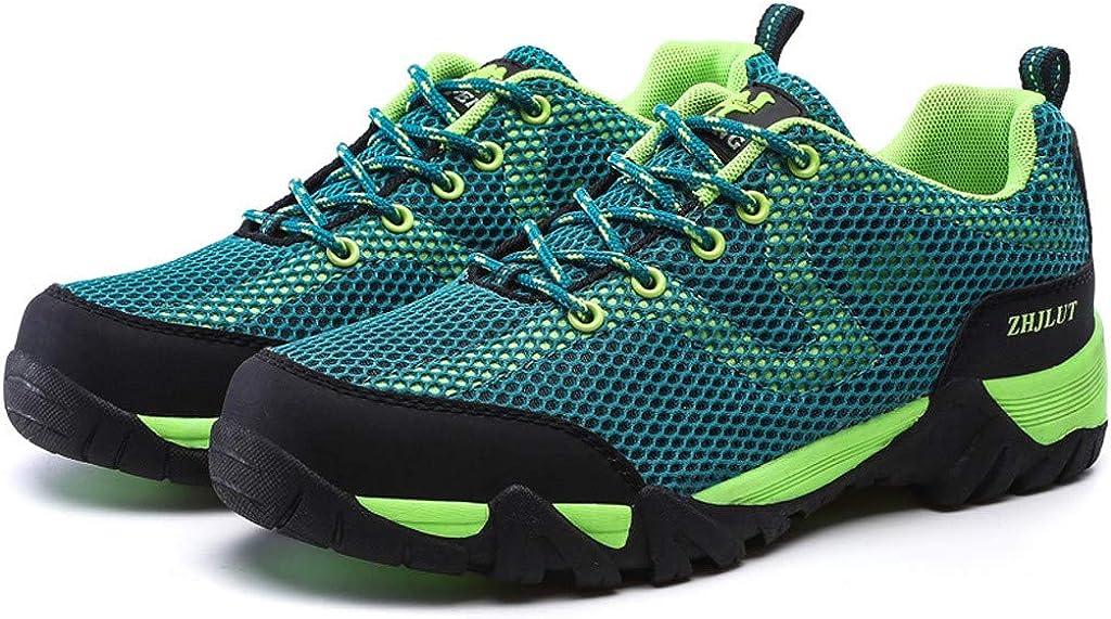 Hiking Shoes Men Casual Mesh Lightweight Non-Slip Sneaker Walking Trekking Work Shoes