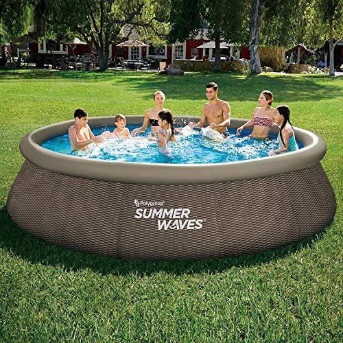 Summer Waves 14 X 36 Quick Set Pool Garden Outdoor