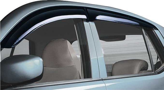 Galio Door Visor for Alto-800/K10-2014 Cars (Set of 4, Smoke