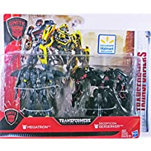 Transformers the last Knight Autobots unite - 2 Pack Megatron and Decepticon Berserker