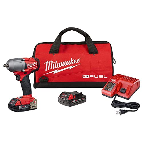 Chicago Pneumatic CP8828K 3 8 Cordless Impact Wrench Kit, Red Black