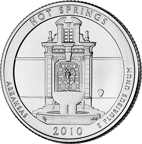 2010 P Hot Springs National Park – D 40 Coin Bankroll Uncirculated