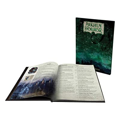 Arkham Horror - 3rd Edition - Deluxe Rulebook: Toys & Games