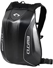Blesiya Motorcycle Backpack Hard Shell Air Flow Track Riding No Drag Back Pack