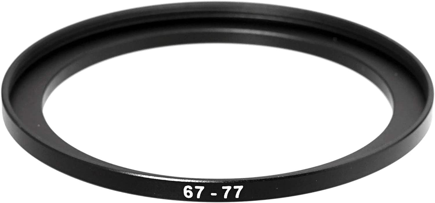 37-46MM Step-Up Ring Adapter 2 Packs 37mm Male 46mm Female Stepping Up Ring for DSLR Camera Lens and ND UV CPL Infrared Filters 37mm to 46mm Step Up Filter Ring