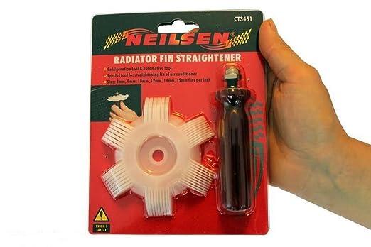 Hornear Herramientas Radiador Fin Straightener Auto, condensador ...