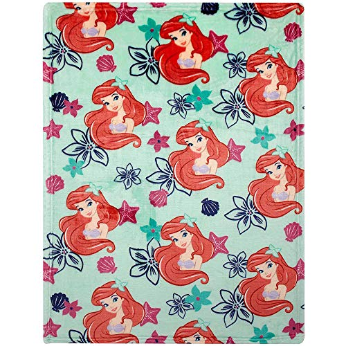 - Disney Ariel Plush Printed Blanket