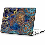 iCasso Macbook Old Retina 13 Inch Case Art Printing Matte Hard Shell Plastic Protective Cover For Macbook Pro 13 Inch Retina No CD-ROM Model A1425/A1502 (Bohemia)