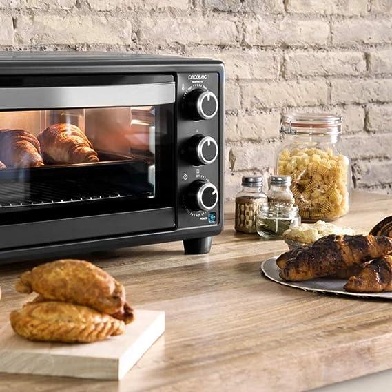 Cecotec Horno Conveccion Sobremesa Bake&Toast 550. Capacidad de 23 ...