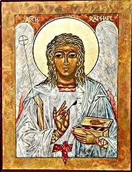 Archangel Raphael Icon Card