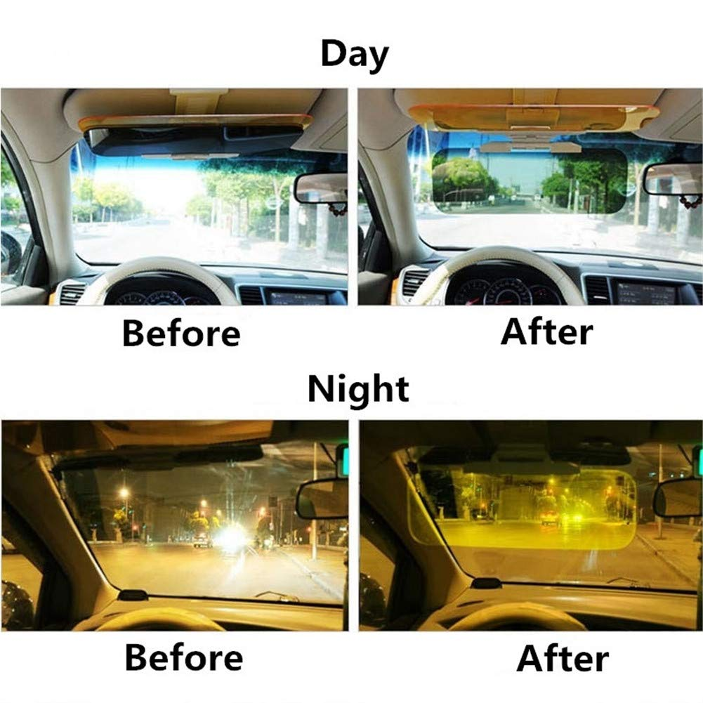 Auto Blendschutz Kfz Sonnenschutz Sonnenblende Sichtschutz Nachtsicht Tag Nacht