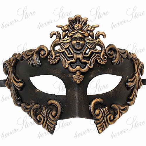 Gold  (Medusa Mask)