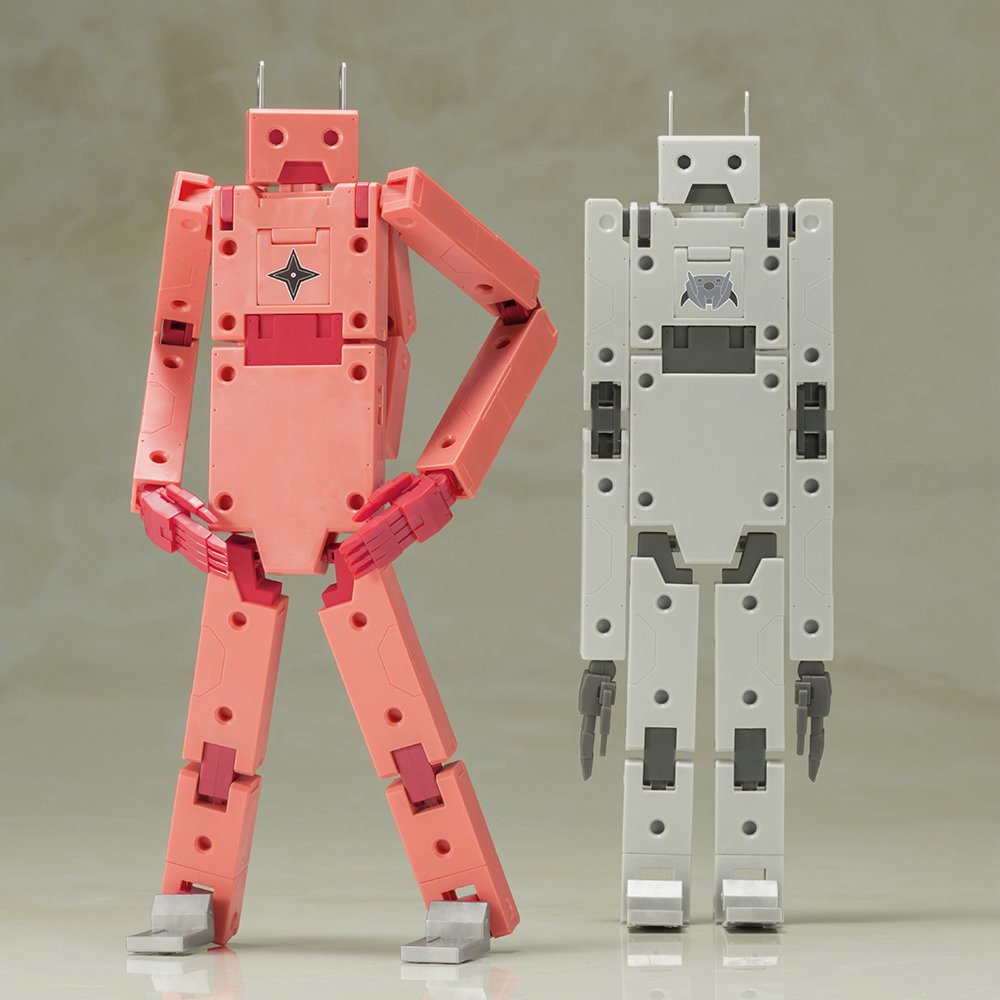 Frame arms and girl charging-ARCHITECT & JINRAI Ver. height 180 mm NON-scale plastic model