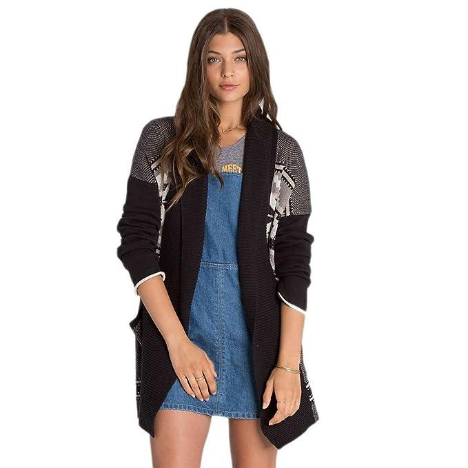 Amazon.com: Billabong Juniors Pattern Play chaqueta de punto ...
