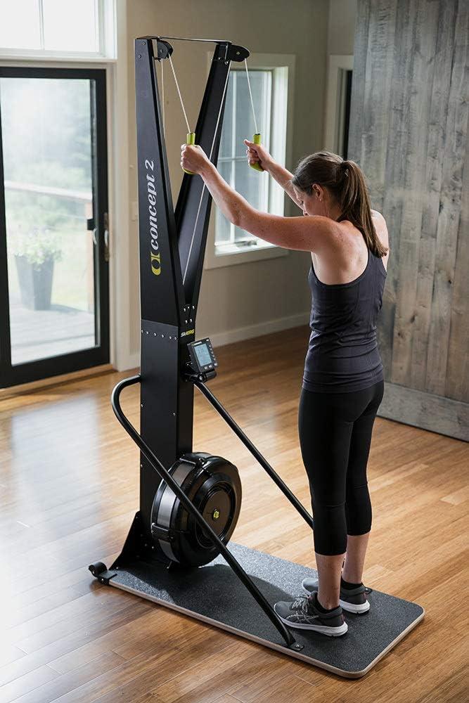 Concept2 Ski - Máquina de esquí para Fitness, Color Negro