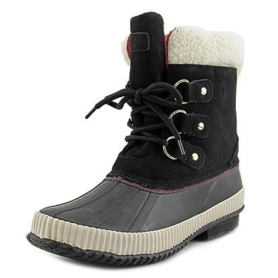 2e04465672ff7e Tommy Hilfiger Womens Ebonie Closed Toe Mid Calf Cold Weather Boots Black  Size 5 M US