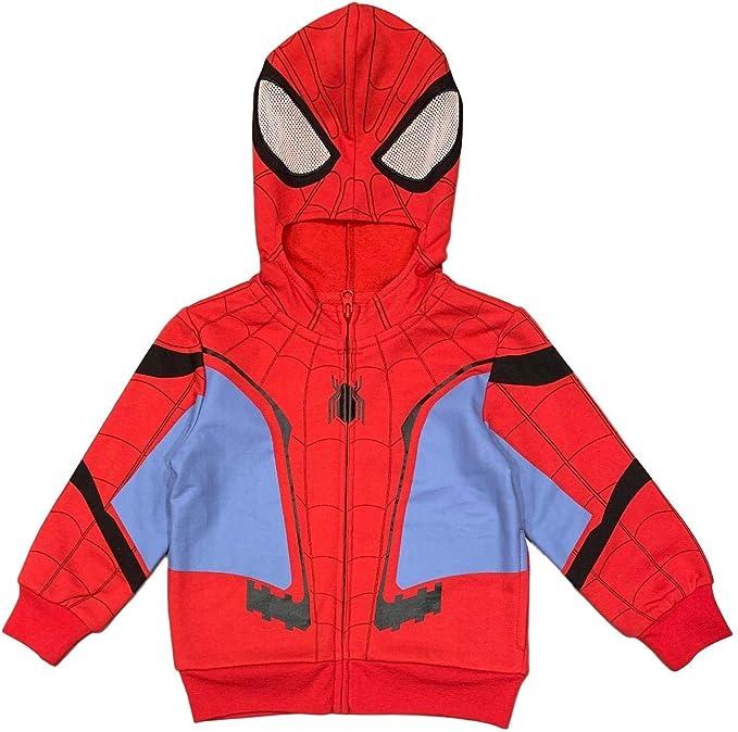 Manvel Spider Man HomecomingZip Suit Sweater Hoodie Sweatshirt Polyester pants
