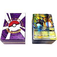 BSTEle Pokemon-kaarten, 120 stuks, cartoon GX Pokemon-kaarten en mega Pokemon-kaarten voor kinderen