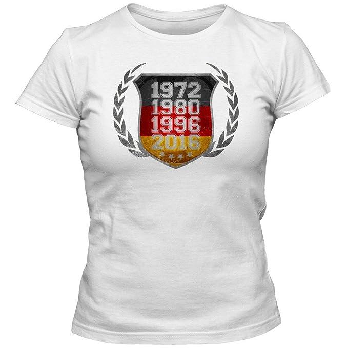 Alemania el Campéon de Europa 2016#3 Camiseta | Mujer | Fútbol | T-