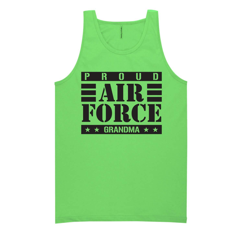 ZeroGravitee Proud Air Force Grandma Neon Tank Top