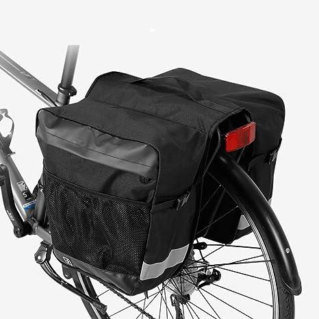 Bolsa de asiento de bicicleta Bicicleta impermeable Bolsa de viaje ...