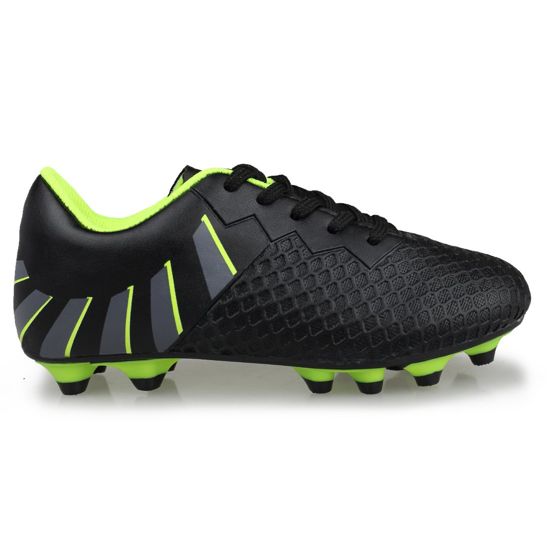 Hawkwell Athletic Outdoor//Indoor Comfortable Soccer Shoes Toddler//Little Kid//Big Kid
