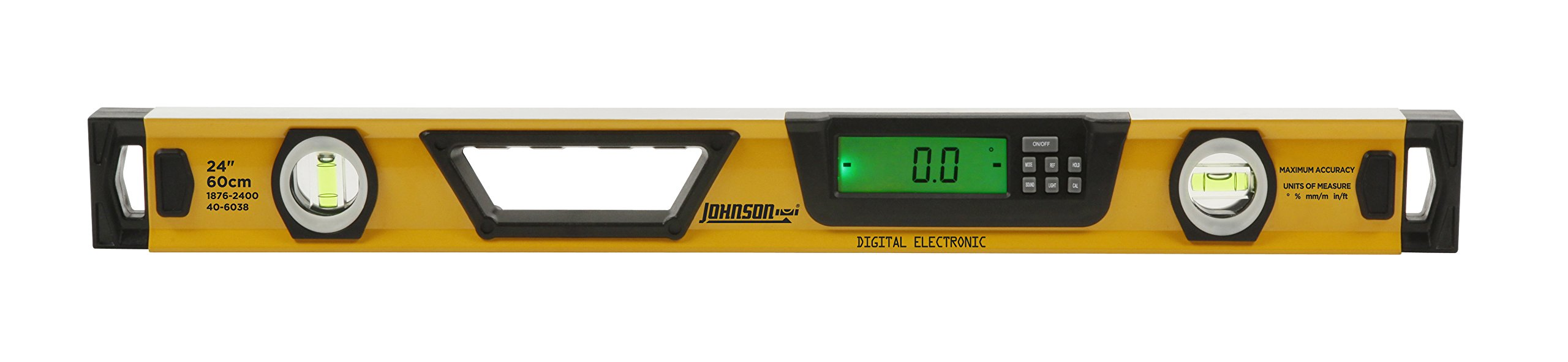 Johnson Level & Tool 1876-2400 Electronic Digital Box Level, 24-Inch