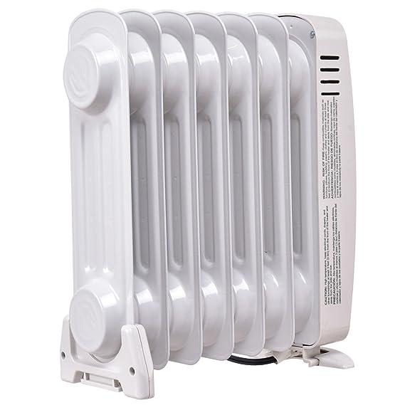DreamHank 700 W portátil Mini eléctrico radiador relleno de aceite calentador Home habitación uso: Amazon.es: Bricolaje y herramientas