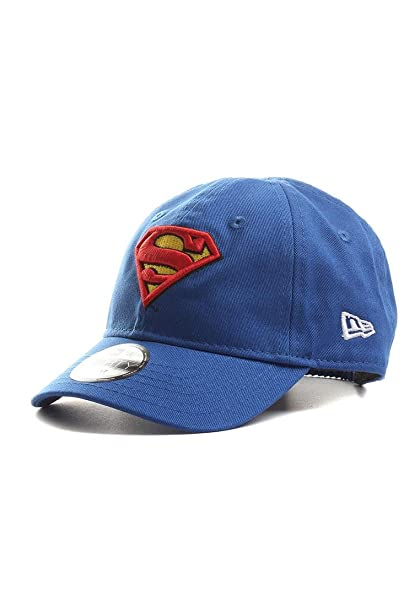 8fab84a164bf Amazon.com  New Era DC Superman Hero Essential 9Forty Elasticback ...