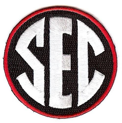 SEC Conference Team Jersey Uniform Patch Georgia Bulldogs - Bulldogs Uniform