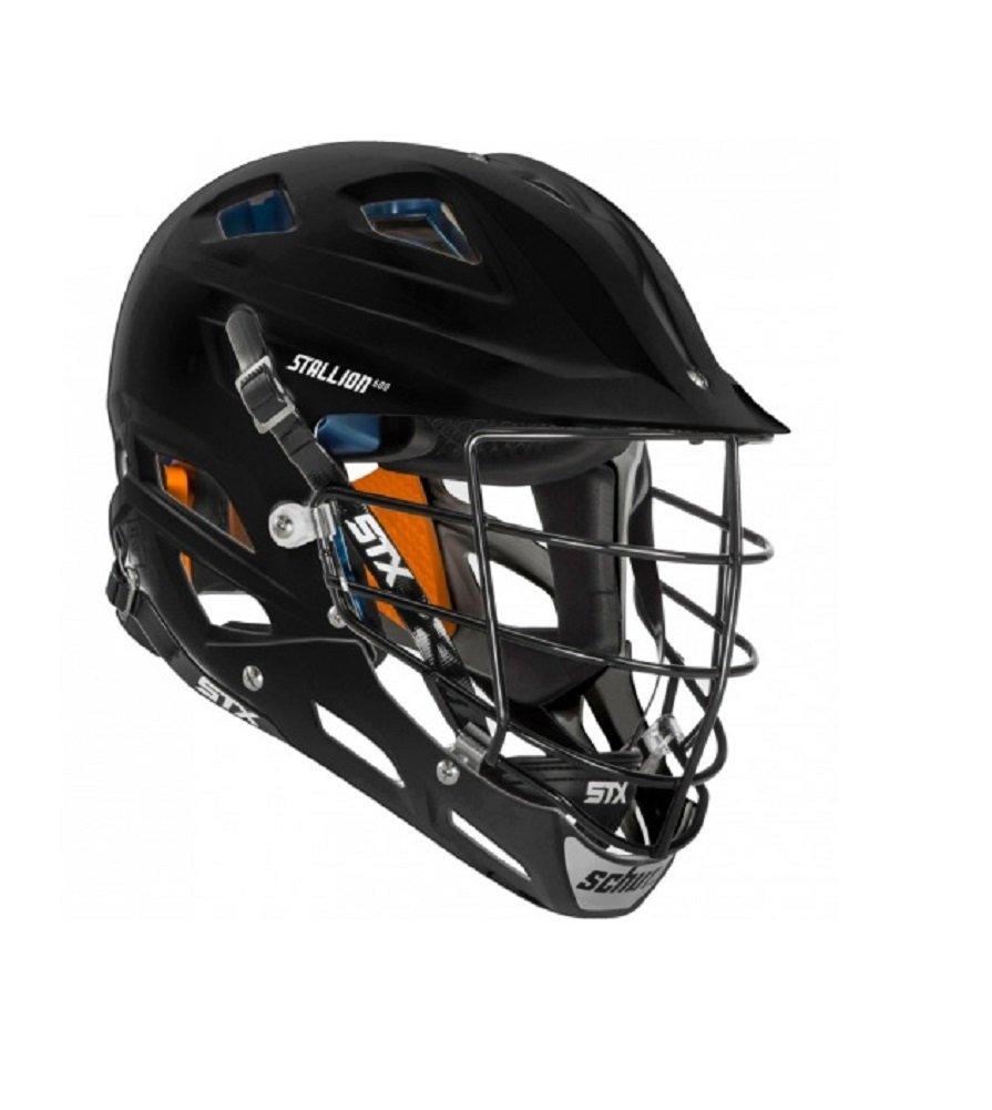STX Lacrosse Stallion 500 Helmet, Black, Large by STX