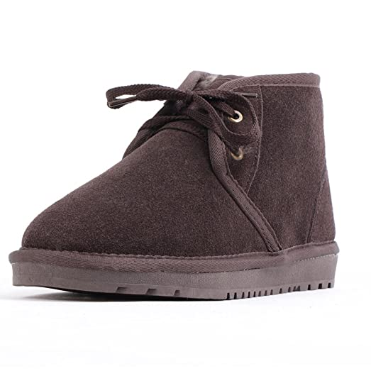 Men's Cool Thermal Suede Winter Snow Boots