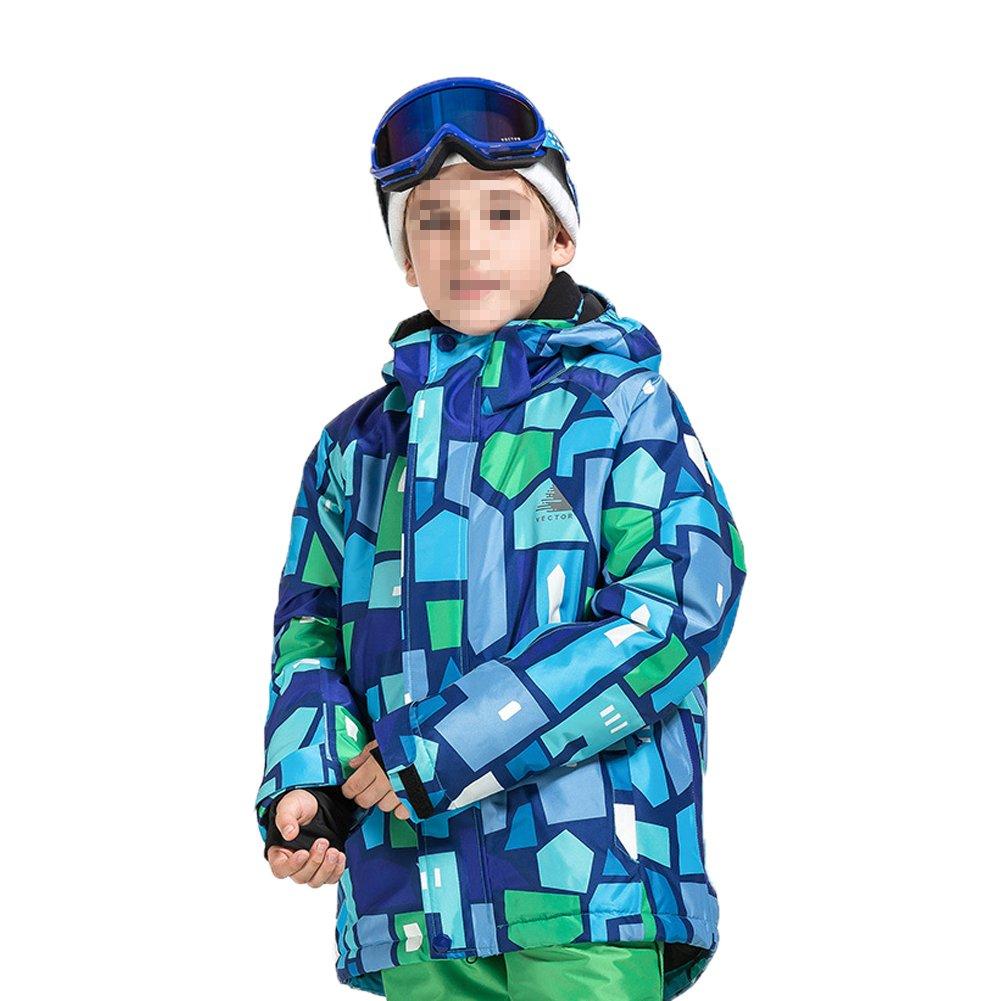 Deylaying 冬 アウトドア スポーツ 防水 職業 スキー ジャケット色雪コート 暖かい ために子供 B077RNVZLG 150|Color 7 Color 7 150