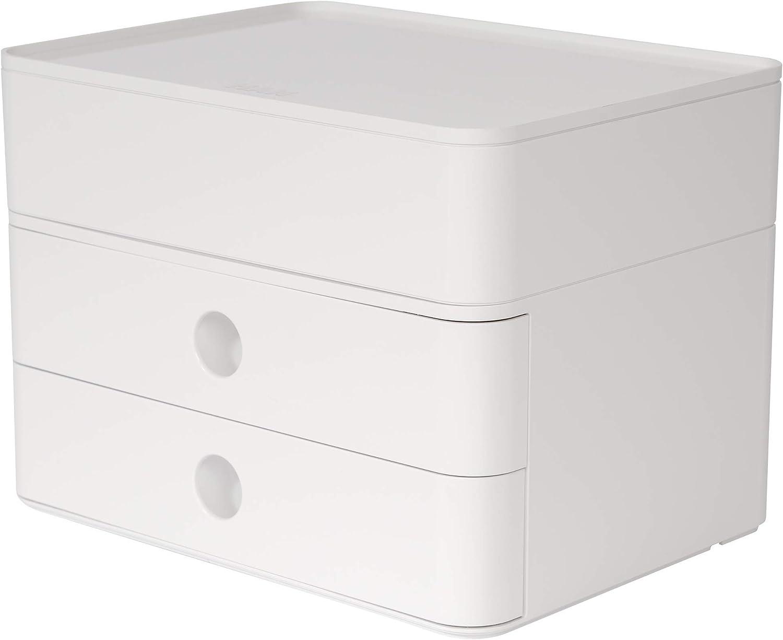 Bianco//Arlecchino Exacompta 314398D Cassettiere 34.7 x 27.8 x 26.7