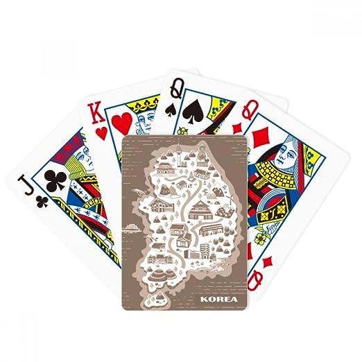 Amazon.com: Diythinker - Juego de cartas de juego con mapa ...