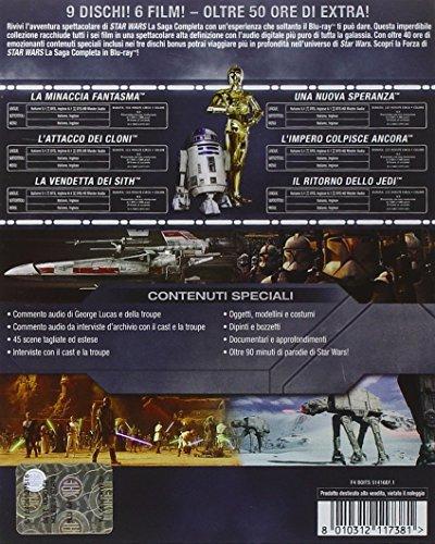 Star Wars - La Saga Completa 9 Blu-Ray Italia Blu-ray: Amazon.es: vari, vari, vari: Cine y Series TV