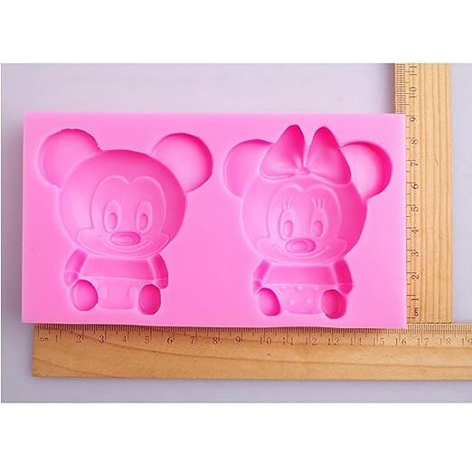 Suzhou LOFTER info de Mickey y Minnie Mouse de jabón Moldes ...