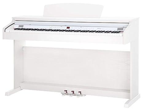 Classic Cantabile DP-50 WM piano electrico blanco mate