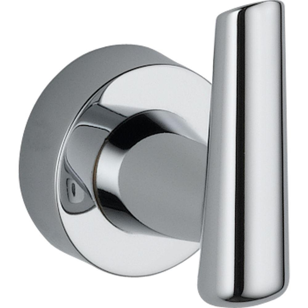 Delta Faucet 77135 Compel Robe Hook, Polished Chrome