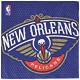 Amscan (511357) Sports and Tailgating Nba New Orleans Pelicans Luncheon Tableware Childrens-Party-Napkins, 72 Pieces