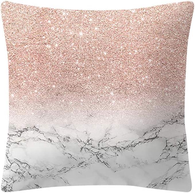 Federe Bianche Per Cuscini.Federa Cuscino Cloom Cuscino Rosa In Oro Rosa Piazza Federa